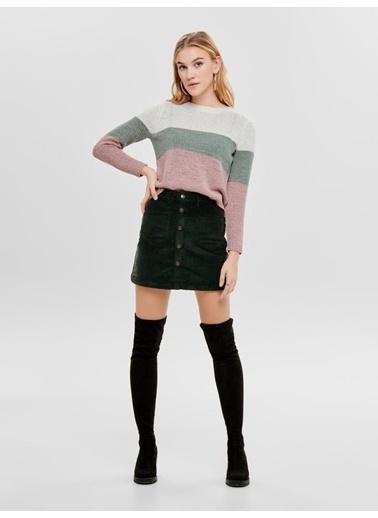 Only Only Kadın Triko Sweatshirt 15161415 Ekru